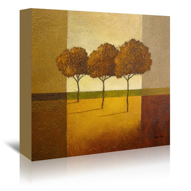 "Trees 4 By Hans Paus - Wrapped Canvas, Hans Paus, Wrapped Canvas, 16"" x 16"""