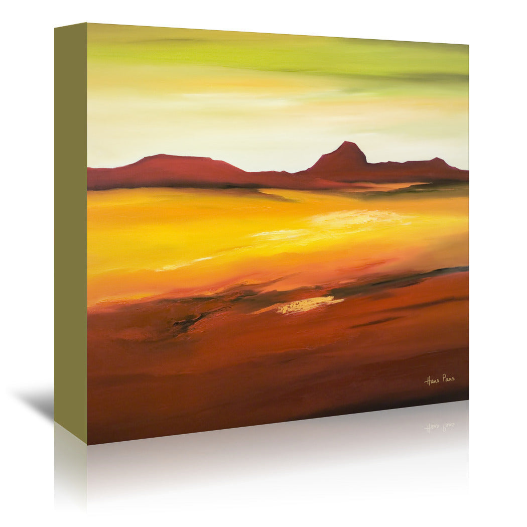 Desolation 3 By Hans Paus - Wrapped Canvas - Wrapped Canvas - Americanflat