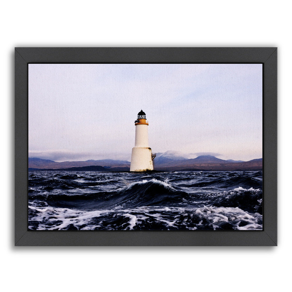 Lighthouse 2 By Nuada - Black Framed Print - Wall Art - Americanflat