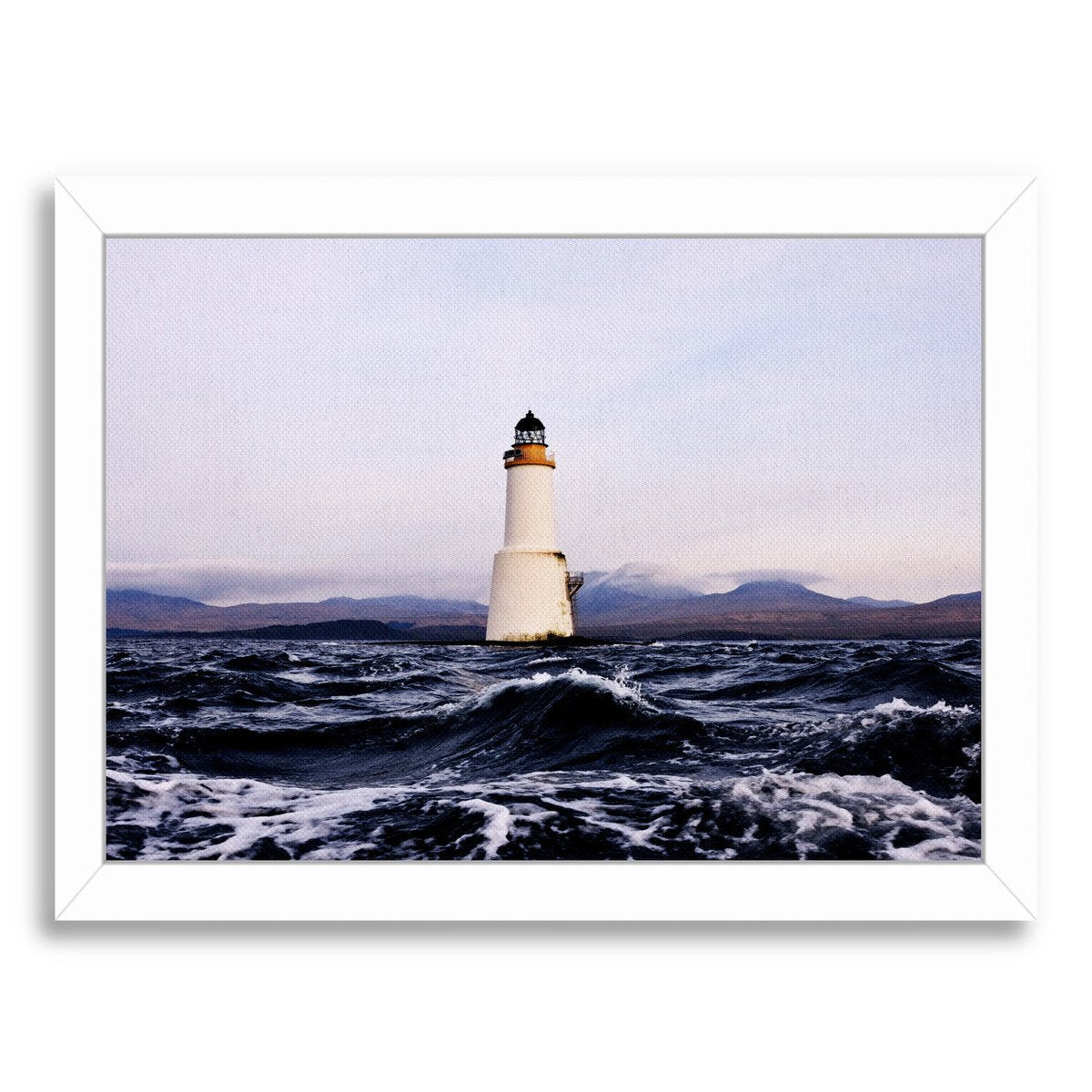 Lighthouse 2 By Nuada - Framed Print - Americanflat