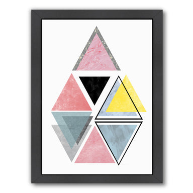Triangle By Nuada - Black Framed Print - Wall Art - Americanflat