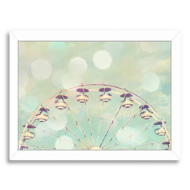 Pastel Dreams By The Gingham Owl - White Framed Print - Wall Art - Americanflat