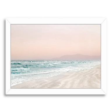 Beach Vibes VI by Hope Bainbridge - White Framed Print - Wall Art - Americanflat