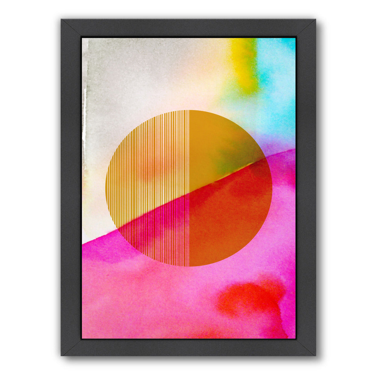 Color Sphere II by Hope Bainbridge - Black Framed Print - Wall Art - Americanflat