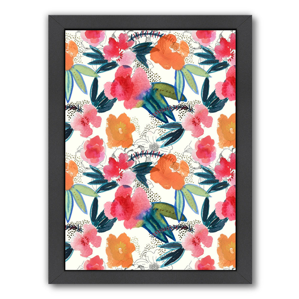"Spring Forward by Hope Bainbridge - Black Framed Print, Wall Art, Hope Bainbridge, 8"" x 10"""