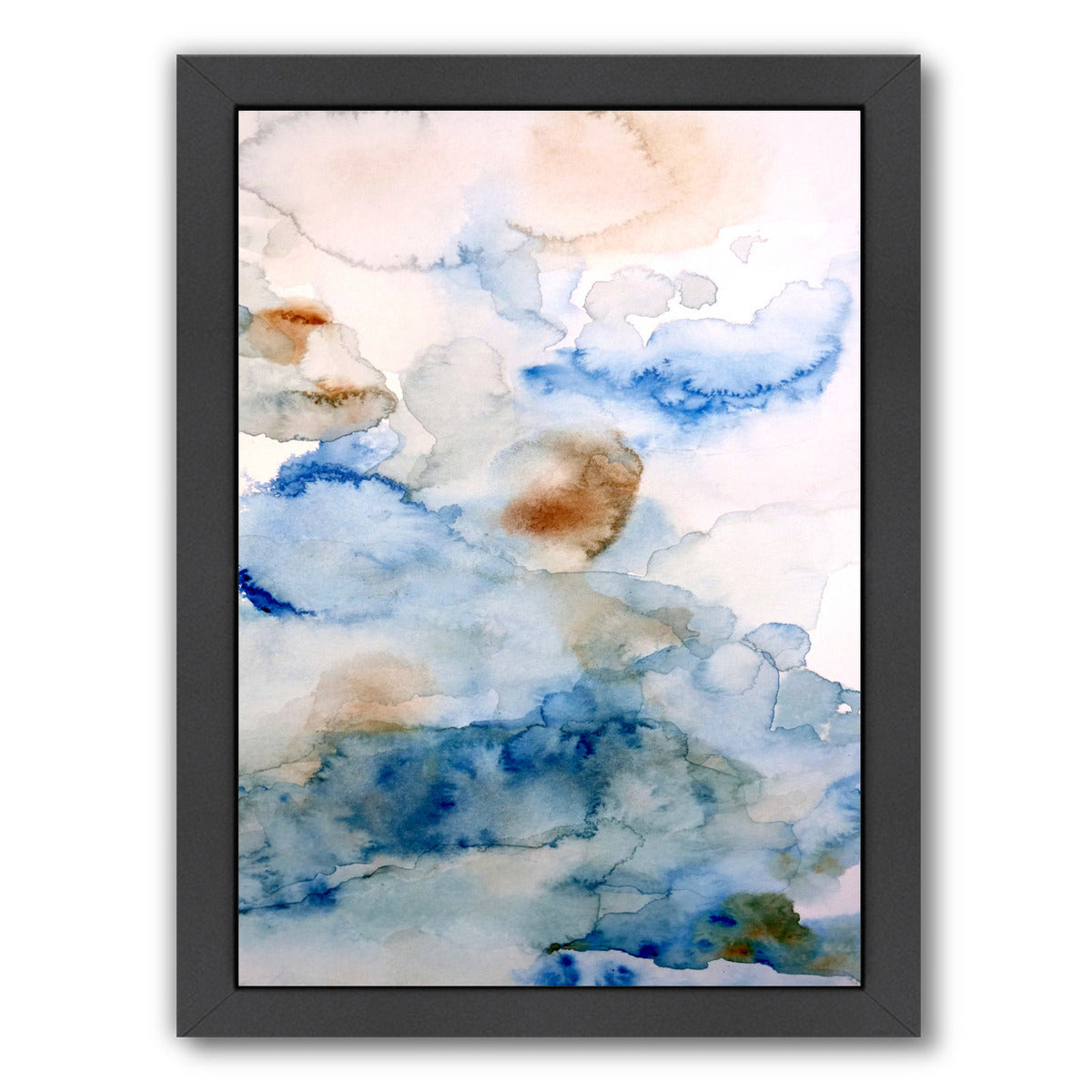 Up in the Clouds I by Hope Bainbridge - Black Framed Print - Wall Art - Americanflat