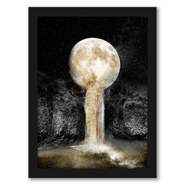 "Honey Moon Ii by Hope Bainbridge - Black Framed Print, Wall Art, Hope Bainbridge, 8"" x 10"""
