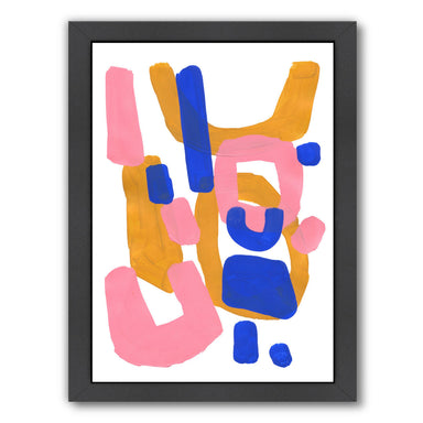 Pastel Baby By Ejaaz Haniff - Black Framed Print - Wall Art - Americanflat