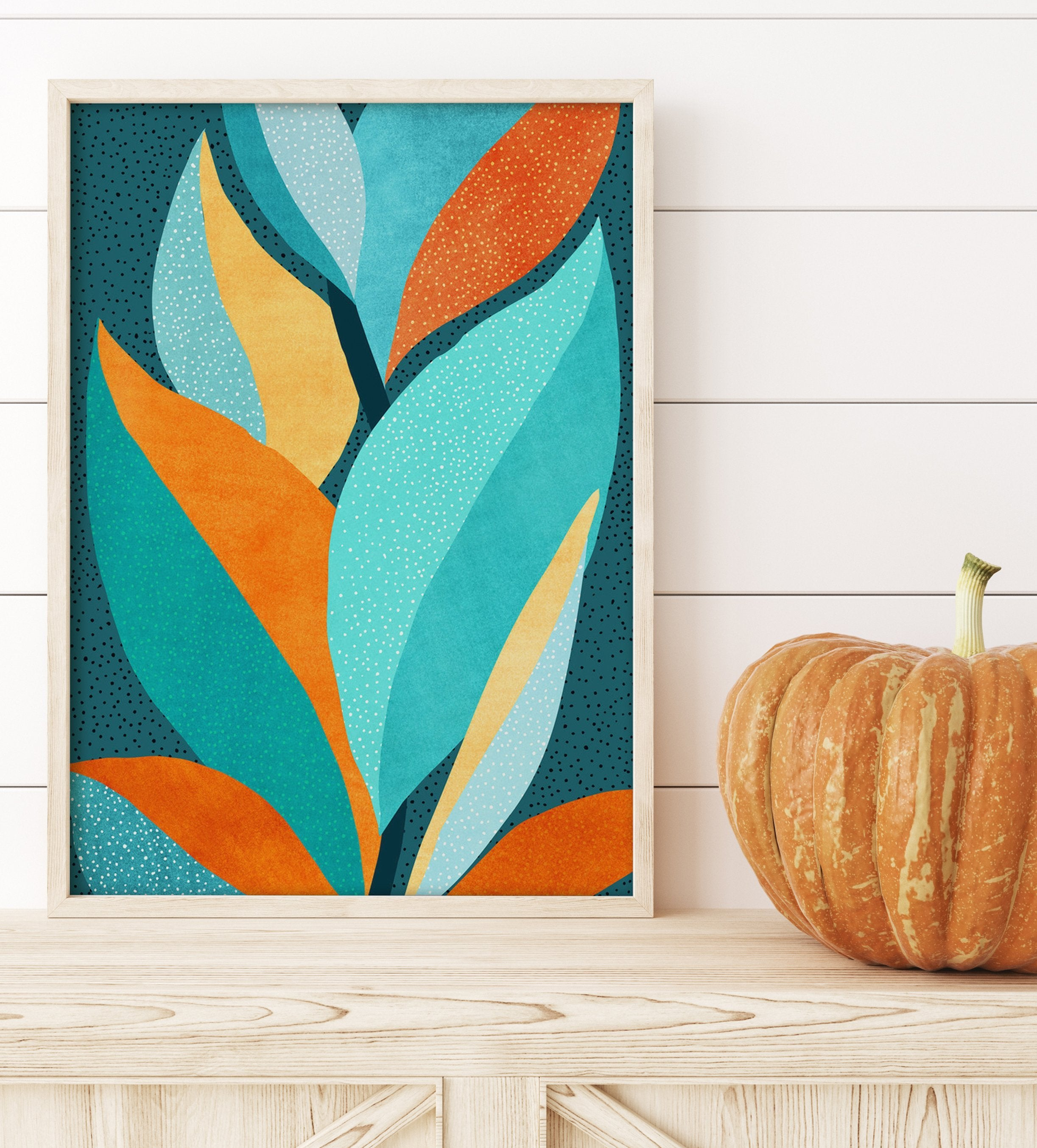 Abstract Tropical Foliage by Modern Tropical - Art Print - Americanflat