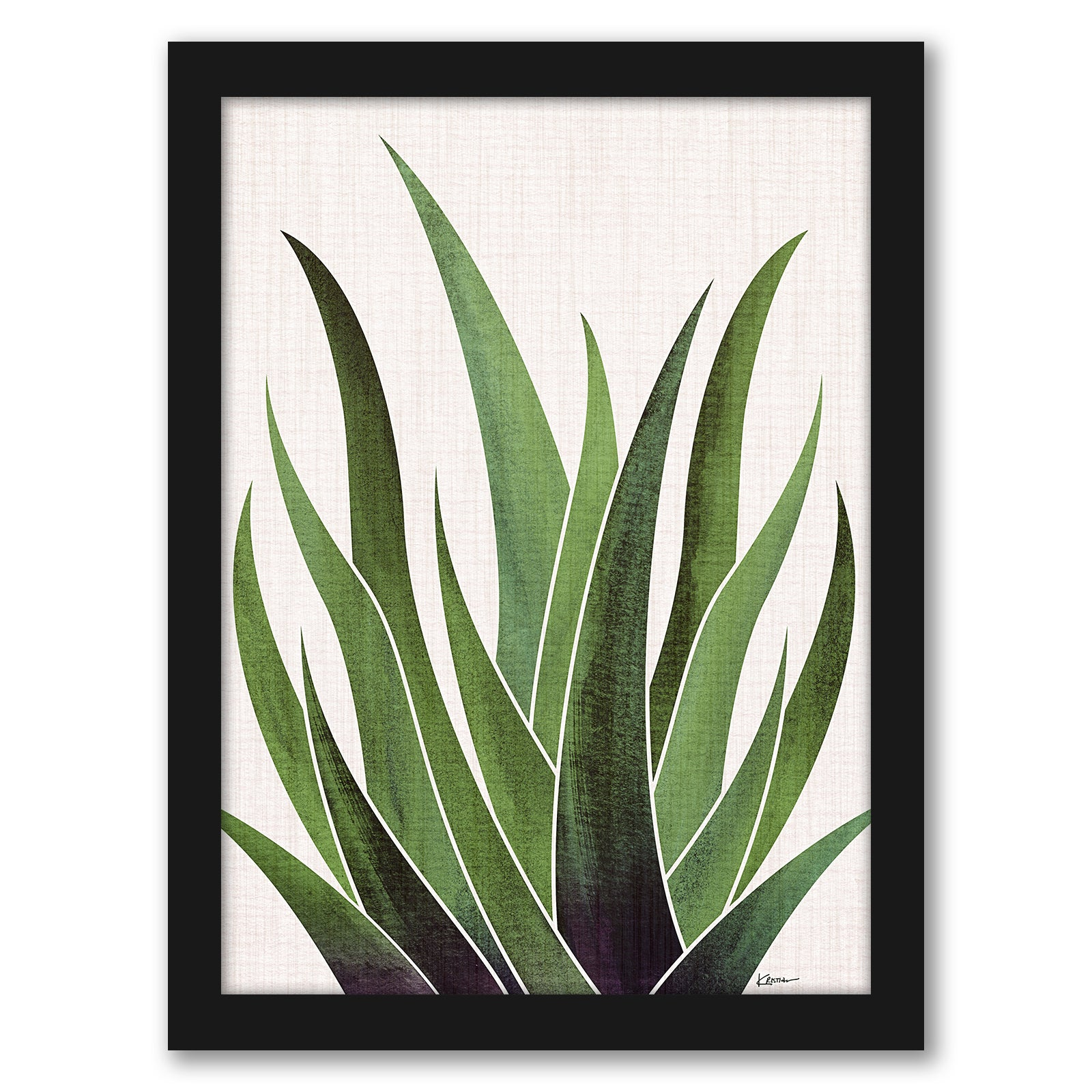 Modern Tropical Greenery Framed Gallery Wall Set - Art Set - Americanflat