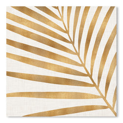Gold Palm Leaf by Modern Tropical, Art Print, Modern Tropical, 10