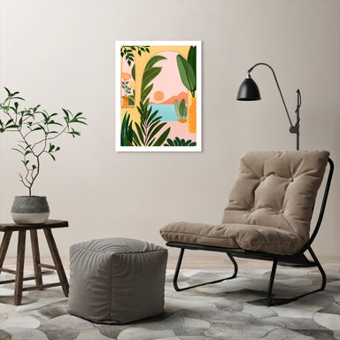 Ocean View 2 By Modern Tropical - Wall Art - Americanflat