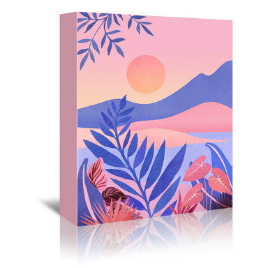Serenity by Modern Tropical - Wrapped Canvas - Wrapped Canvas - Americanflat