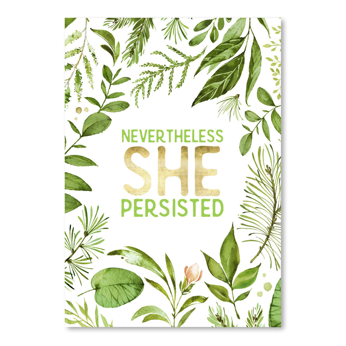 Nevertheless She Persisted by Wall + Wonder - Art Print - Americanflat