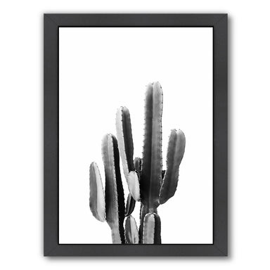 Cacti Bw By Sisi And Seb - Black Framed Print - Wall Art - Americanflat