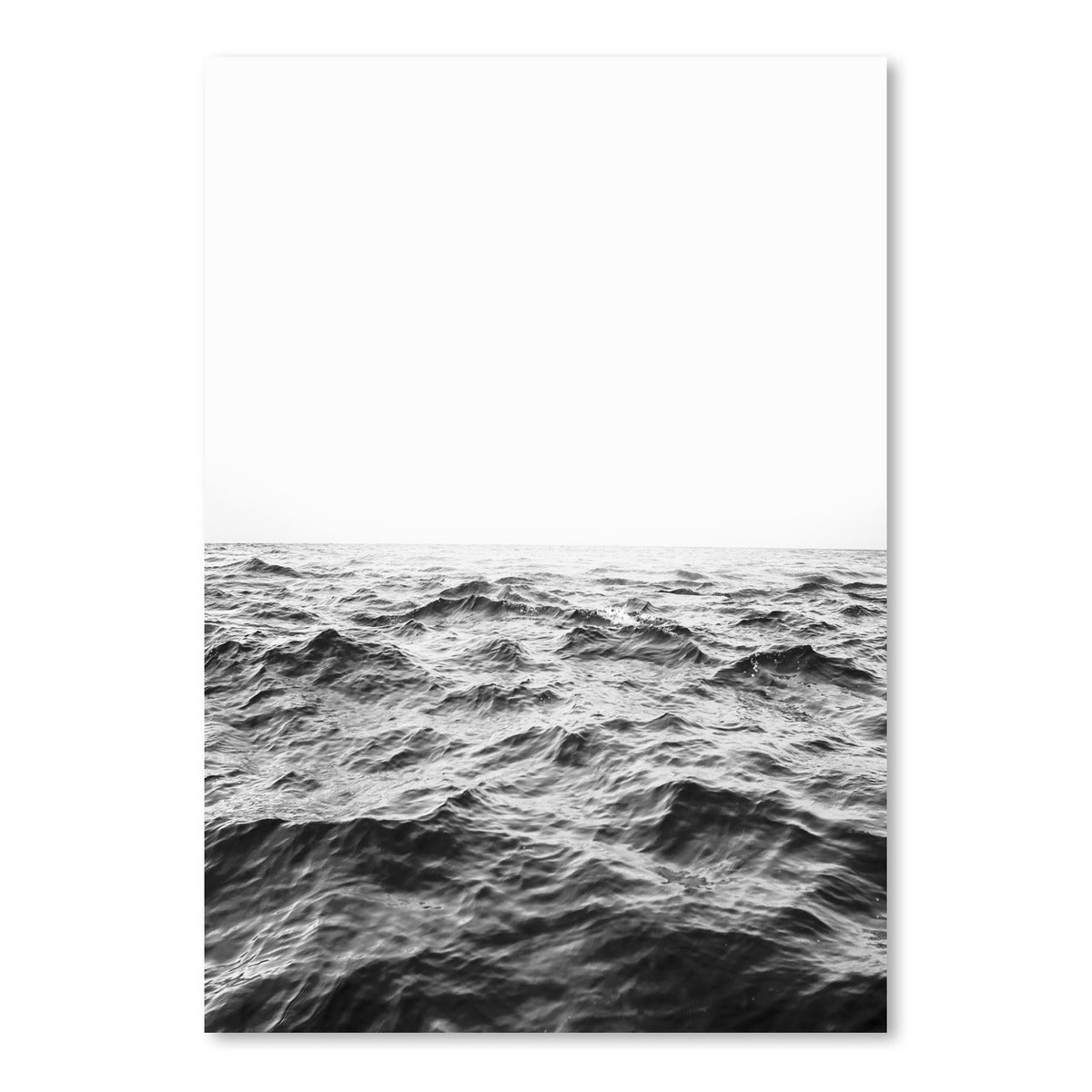 Horizon Bw by Sisi and Seb - Art Print - Americanflat