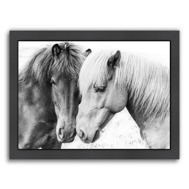Horse Love By Sisi And Seb - Black Framed Print - Wall Art - Americanflat