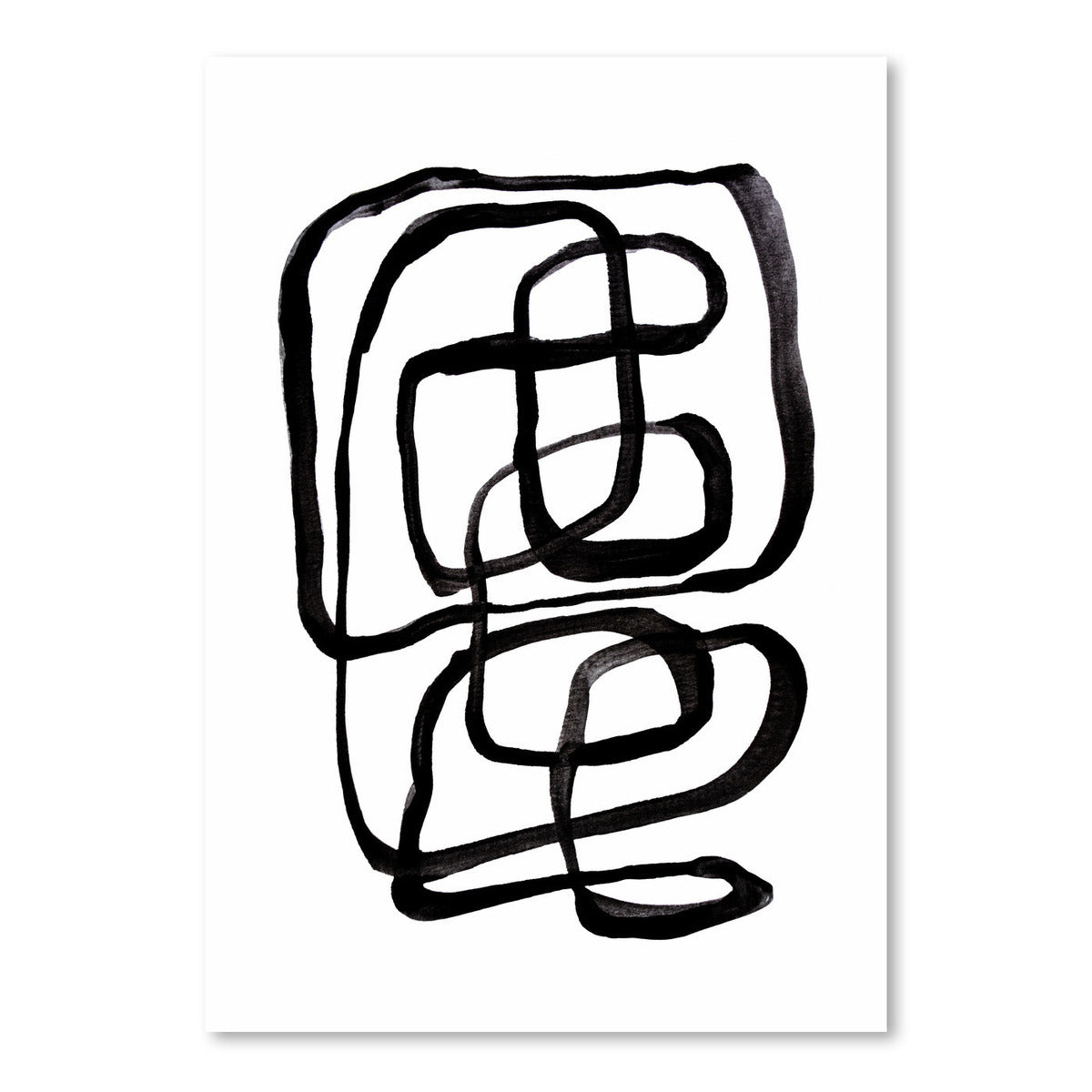 Lines by Sisi and Seb - Art Print - Americanflat