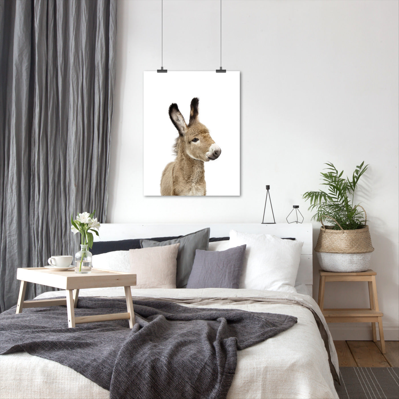 Little Donkey by Sisi and Seb - Art Print - Americanflat