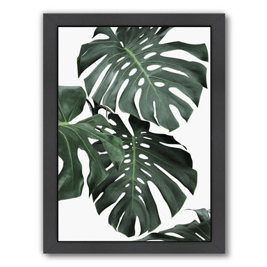 Monstera Jungle By Sisi And Seb - Black Framed Print - Wall Art - Americanflat