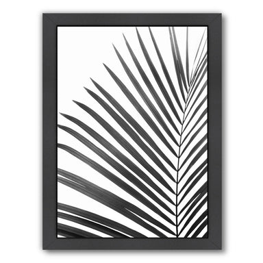 Palm Leaf By Sisi And Seb - Black Framed Print - Wall Art - Americanflat