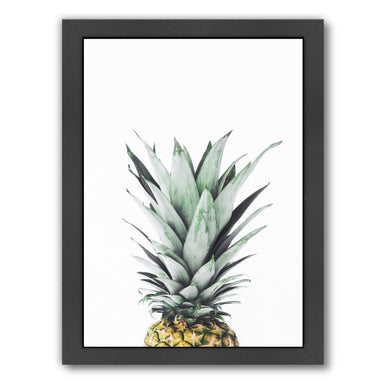 Pineapple By Sisi And Seb - Black Framed Print - Wall Art - Americanflat