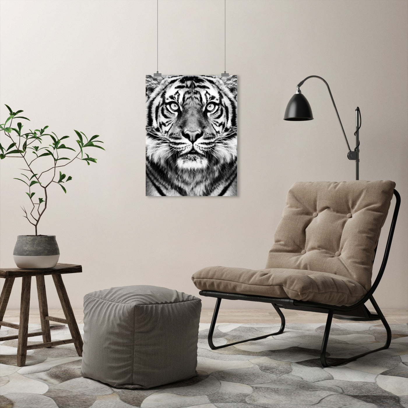 Tiger by Sisi and Seb - Art Print - Americanflat
