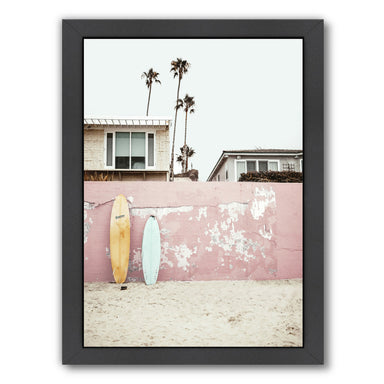 Vacay By Sisi And Seb - Black Framed Print - Wall Art - Americanflat