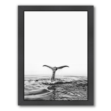 Whales Tale By Sisi And Seb - Black Framed Print - Wall Art - Americanflat