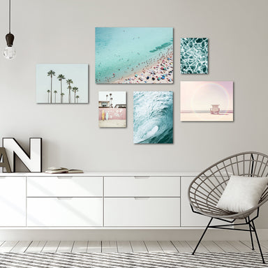 Beach Photography Canvas Gallery Wall Set - Art Set - Americanflat