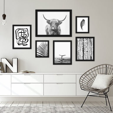 Black & White Southwest Gallery Wall Set - Art Set - Americanflat