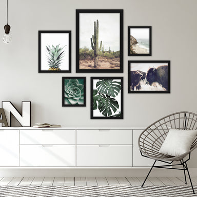 Contemporary Southwest Photography Framed Gallery Wall Set - Framed Print - Americanflat