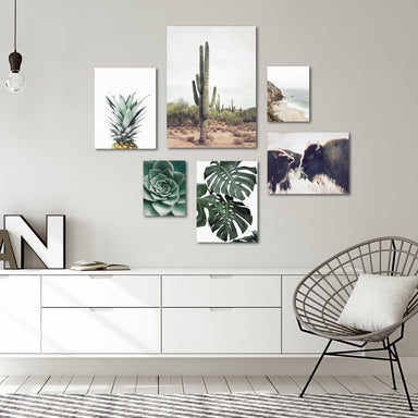 Contemporary Southwest Photography Canvas Gallery Wall Set - Art Set - Americanflat