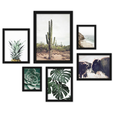 Contemporary Southwest Photography Framed Gallery Wall Set - Art Set - Americanflat