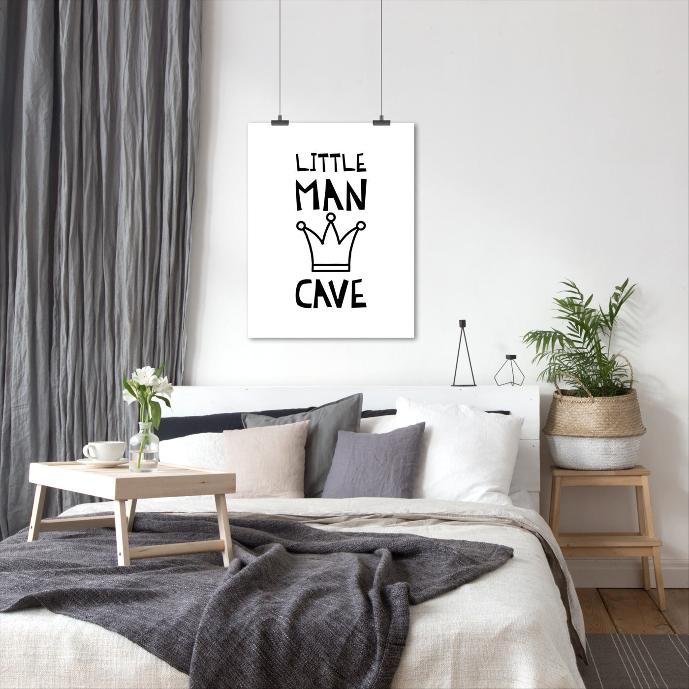 Little Man Cave by Kate Shephard - Art Print - Americanflat