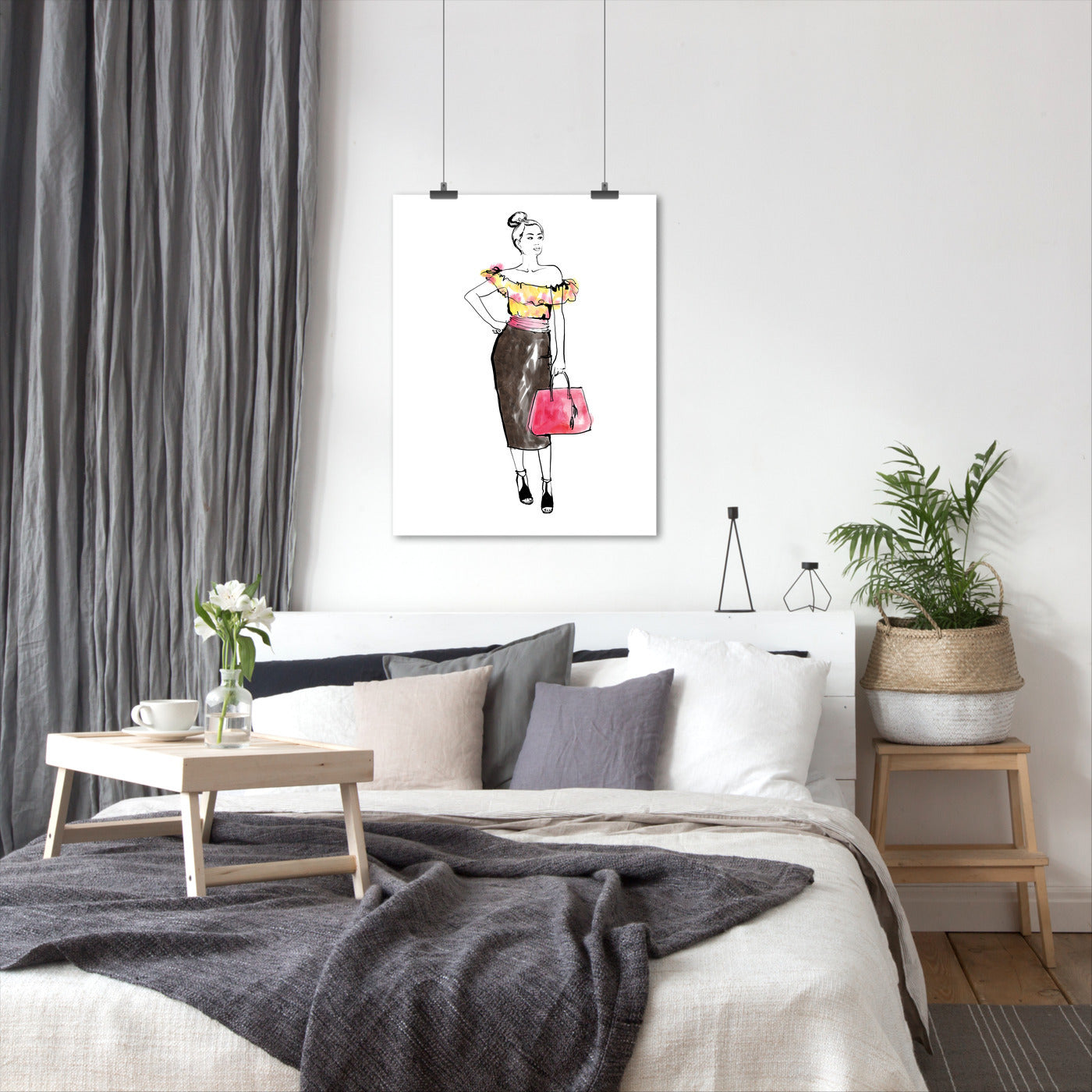 Fashion Girl by Blursbyai - Art Print - Americanflat