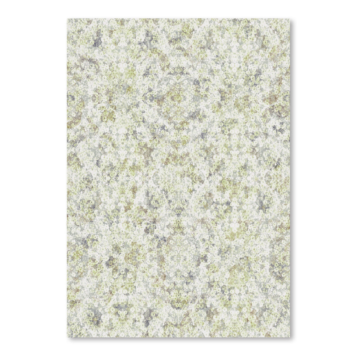 Green Soft Flowers by DecoWorks - Art Print - Americanflat