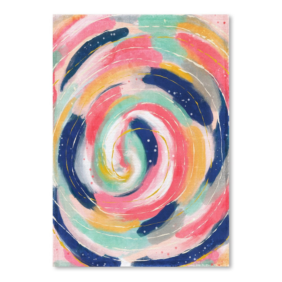 Circle Abstract by Lisa Nohren - Art Print - Americanflat