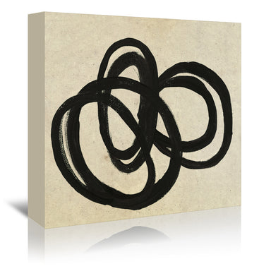 Loops By Chaos & Wonder Design - Wrapped Canvas - Wrapped Canvas - Americanflat