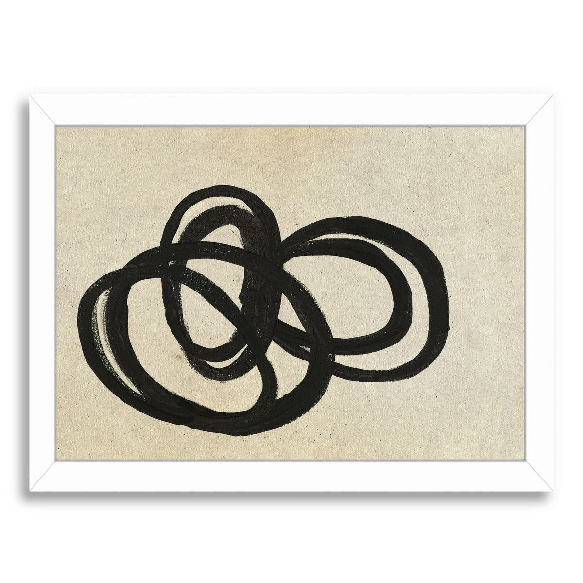 Loops Ii By Chaos & Wonder Design - Framed Print