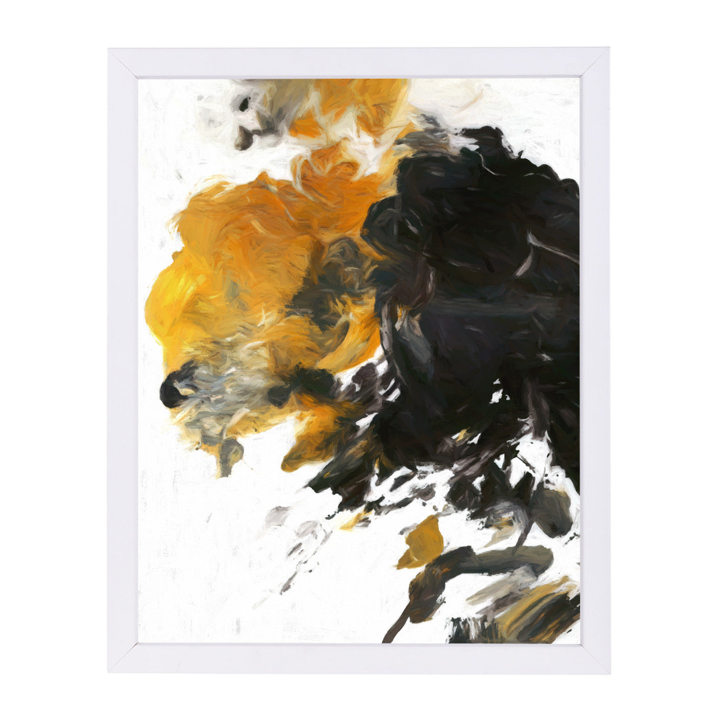 "Palette Abstract By Chaos & Wonder Design - White Framed Print, Wall Art, Chaos & Wonder Design, 8"" x 10"""