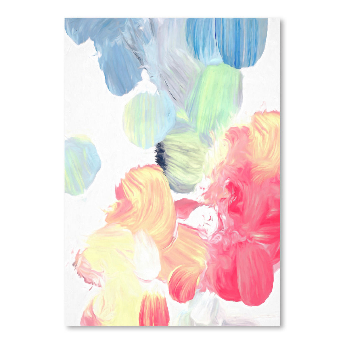 Pastel Abstract III by Chaos & Wonder Design - Art Print - Americanflat