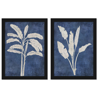 Banana Tree by Chaos & Wonder Design - 2 Piece Framed Print Set - Americanflat