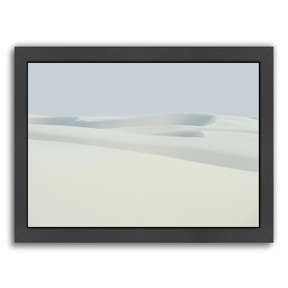 Sand Dunes By Chaos & Wonder Design - Black Framed Print - Wall Art - Americanflat