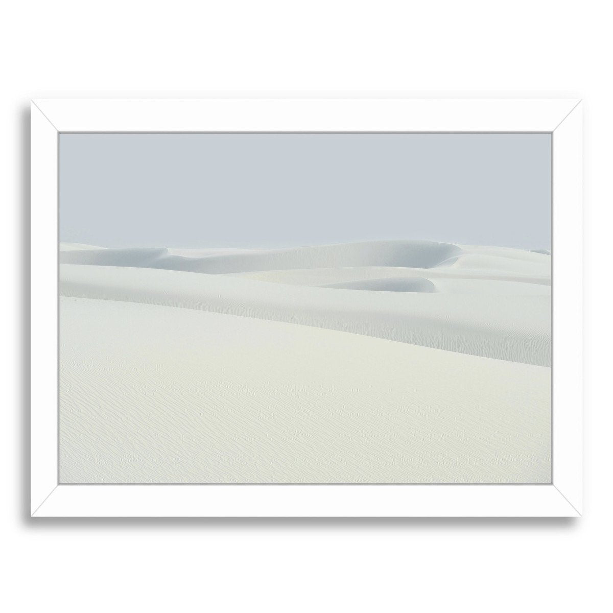 Sand Dunes By Chaos & Wonder Design - Framed Print - Americanflat