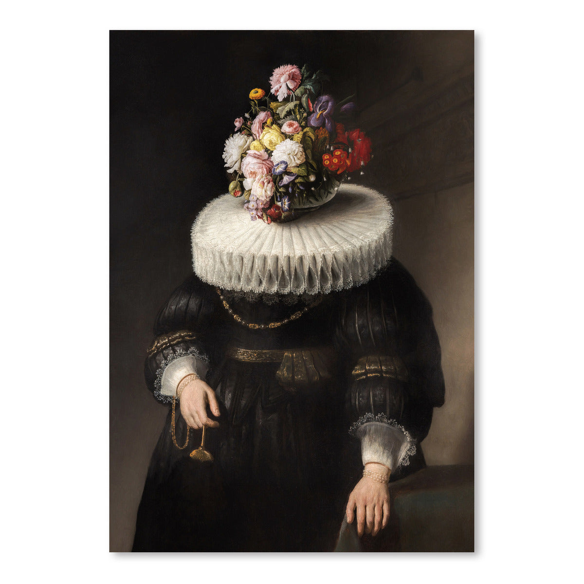 Flower Portrait Dutch by Chaos & Wonder Design - Art Print - Americanflat