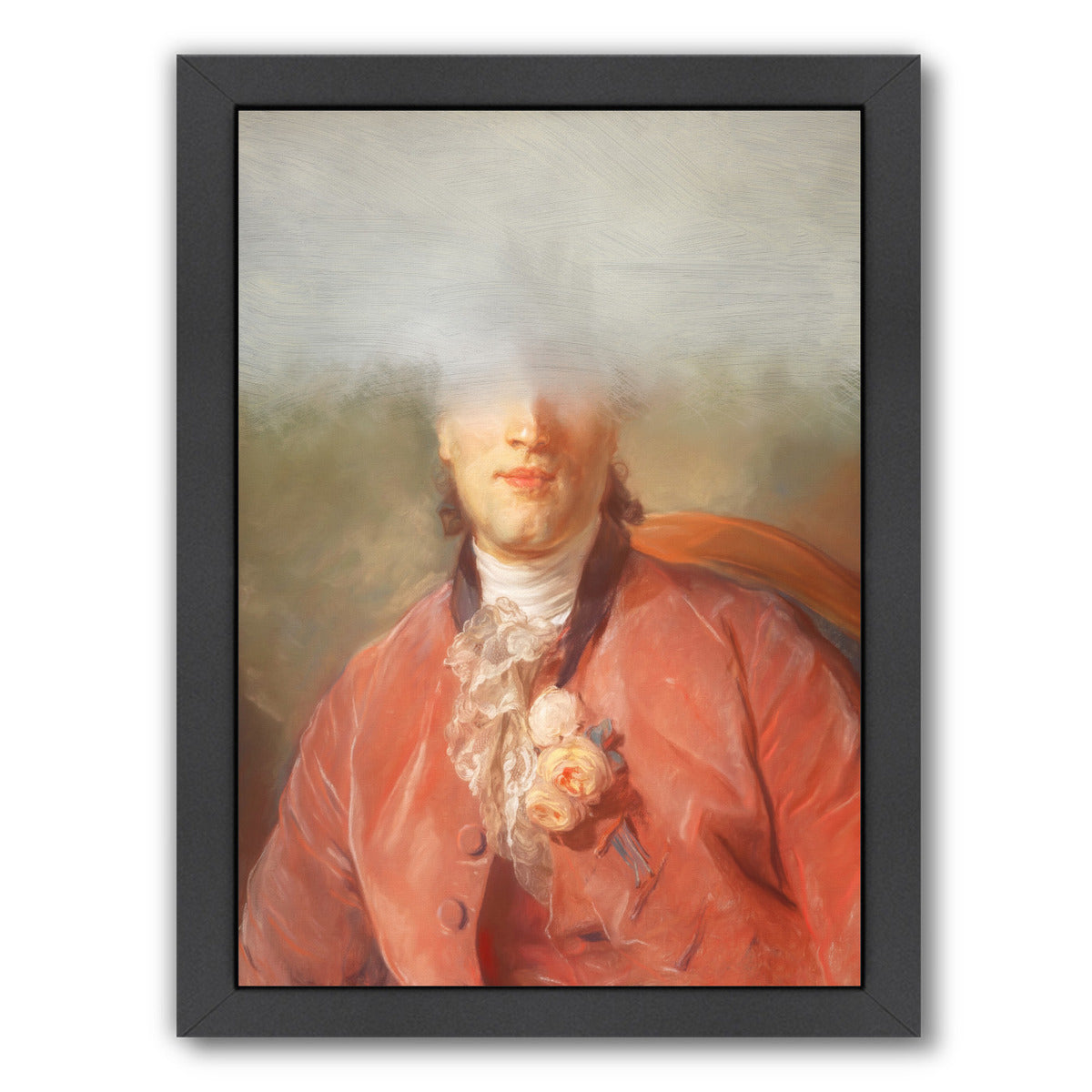 The Frenchman By Chaos & Wonder Design - Black Framed Print - Wall Art - Americanflat