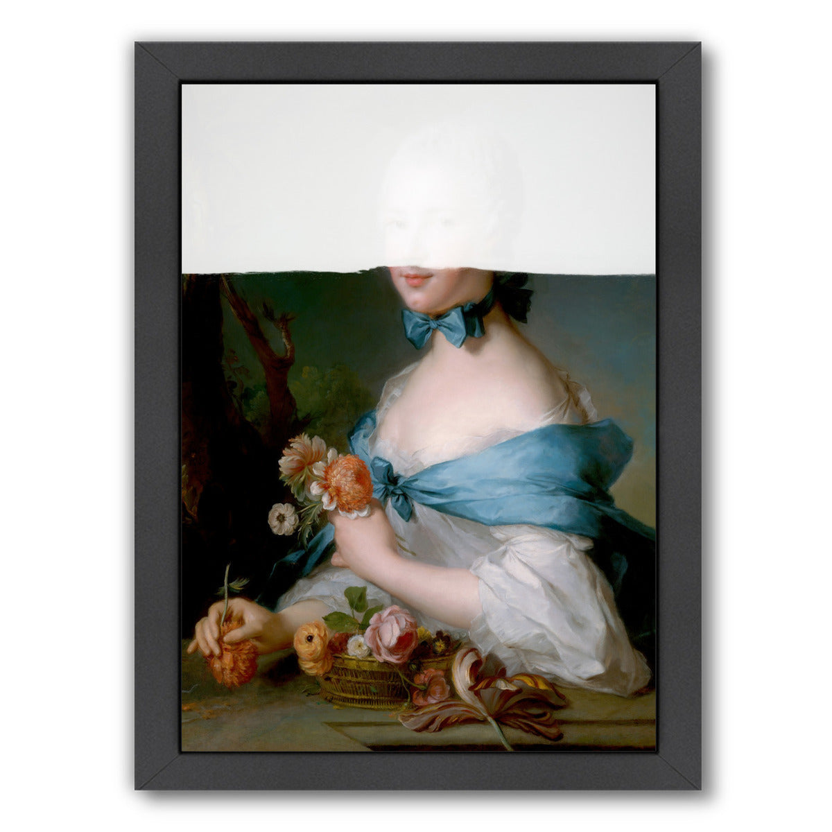 Flower Girl By Chaos & Wonder Design - Black Framed Print - Wall Art - Americanflat