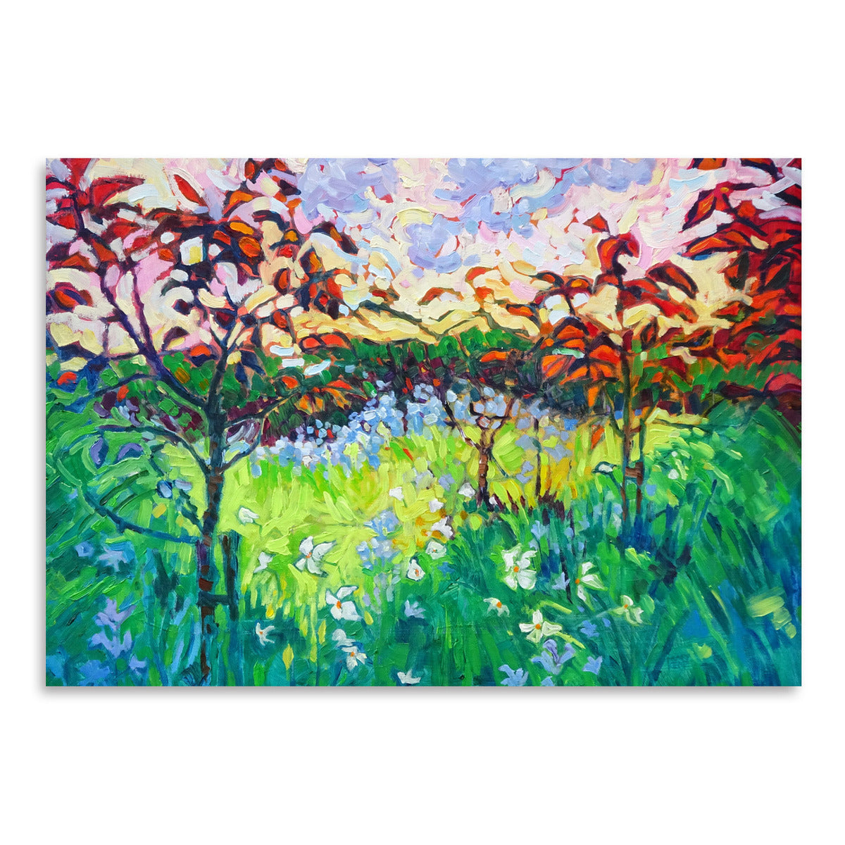 Garden At Houghton Hall by Mary Kemp - Art Print - Americanflat