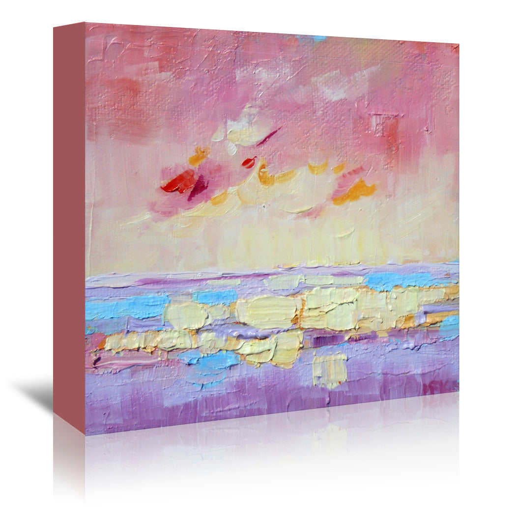 Peaceful Seascape By Mary Kemp - Wrapped Canvas - Wrapped Canvas - Americanflat